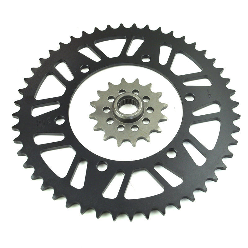 цены LOPOR Carbon Steel Front Rear Sprocket Kit Set for Yamaha XJ600 S Diversion 1992-2003 1993 1994 XJ600N 1995-2003 Quality Parts