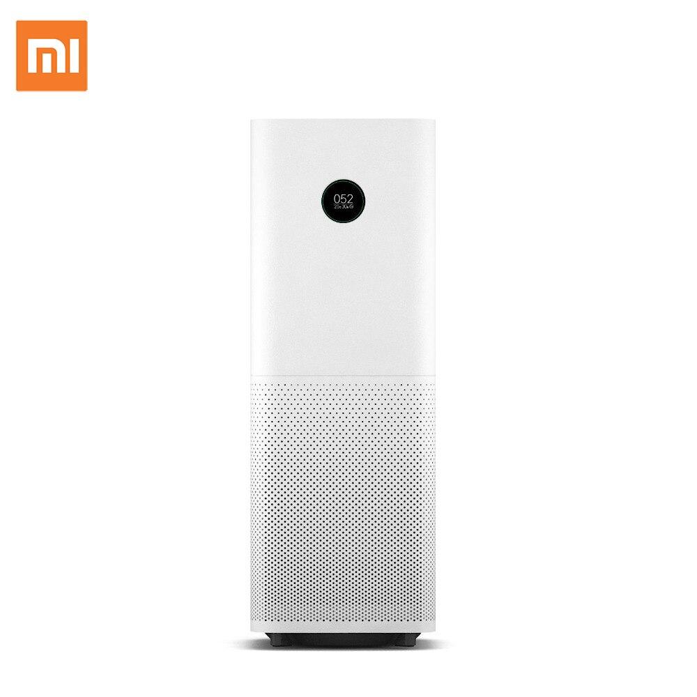 Xiaomi Original Air Purifier Pro Intelligent OLED Display CADR 500m3/h 60m3 Wireless Smartphone APP Control Household Appliances