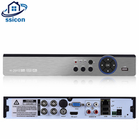 SSICON 4 Channel 5 IN1 Security 4MP CCTV Camera DVR Hybird NVR For 4.0MP AHD CVI TVI Analog IP Camera 4CH AHD Video Recorder