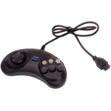 Classic Wired Game Controller for SEGA Genesis 6 Button Gamepad for sega mega drive 2 y1301 / PC /Drive Game Accessories цена 2017