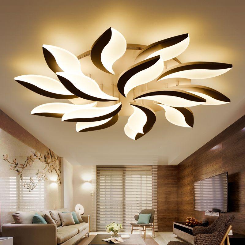 New Design Acrylic Modern Led Ceiling Lights For Living Study Room
