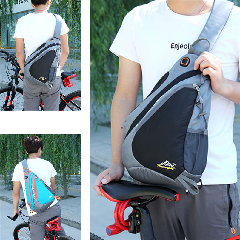 1pc New Sling Backpack Chest Bag Shoulder Pack Outdoor Lightweight Crossbody Daypack hiking cycling Outdoor Bags #3n19 (7)