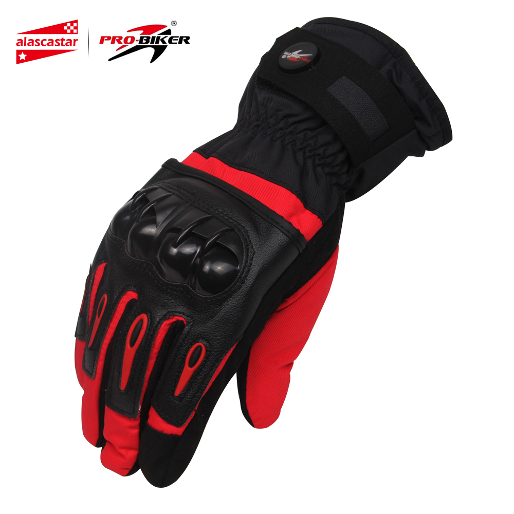 PRO-BIKER Winter Thermal Warm Motorcycle Sport Gloves Waterproof Windproof Skiing Snowboarding  Guantes Luvas Da Motocicleta