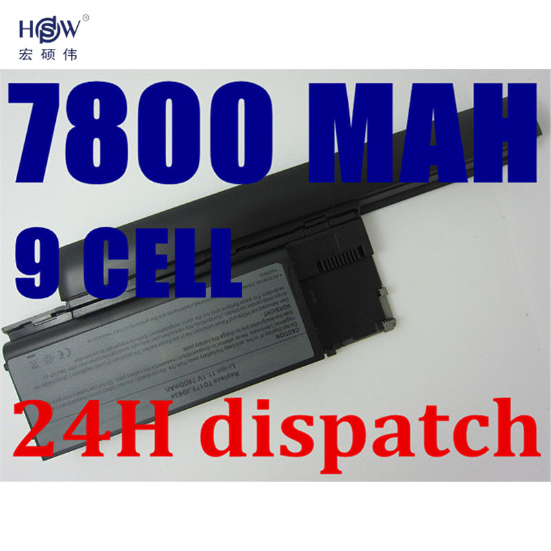 HSW 7800mAh Laptop Battery For Dell Latitude D620 D630 D631 M2300 KD491 KD492 KD494 KD495 NT379 PC764 PC765 PD685 RD300 TC030 hsw 7800mah laptop battery for dell latitude d620 d630 d631 m2300 kd491 kd492 kd494 kd495 nt379 pc764 pc765 pd685 rd300 tc030
