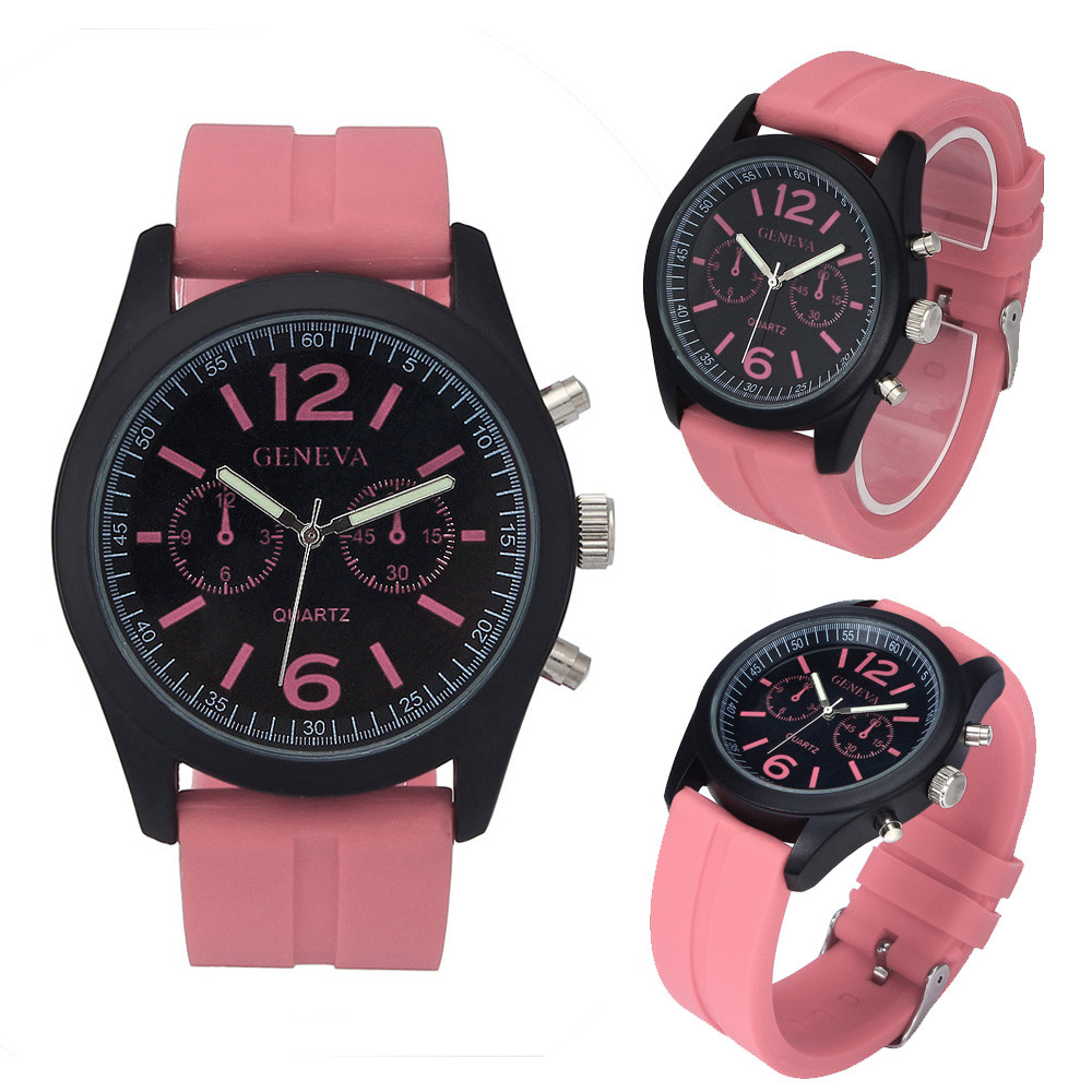 Luxury PU Leather Watches Men Women Geneva Fashion Quartz Watch Military Silicone Wristwatch Men Hour Clock Relojes Hombre 2016 free drop shipping 2017 newest europe hot sales fashion brand gt watch high quality men women gifts silicone sports wristwatch
