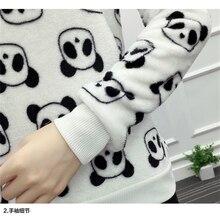 Women Cute Panda Hoodie Sweatshirt