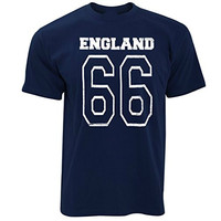 England 1966 Football Goals 4 2 Mens T Shirt