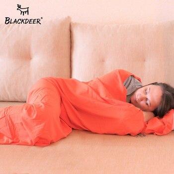 Blackdeer Schlafsack Outdoor Travel Air Faul Bett Für Tourismus Ultraleicht Liner Tragbare Hotel Anti Schmutzig Wandern Warme 85*200CM