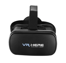 2016 Google cardboard VR BOX Version Virtual Reality 3D VR Glasses + Bluetooth Game Controller for 3.5″ – 6.0″ Smartphone