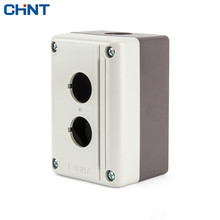 цена на CHINT Waterproof Button Box NPH1-20 2 Hole Air Box Installation Aperture 22mm Button Installation Box