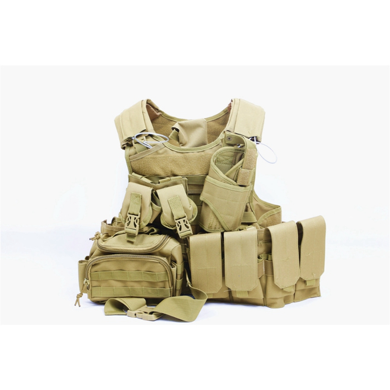 Hot Selling Military MOLLE 600D Nylon Combat 049 Tactical Vest Outdoor Products Hunting Wholesale