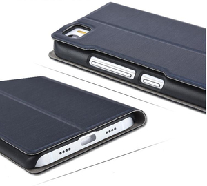 Image 3 - Чехол книжка для Xiaomi Mi4C prime, Оригинальный чехол книжка из искусственной кожи для mi 4c, M4C, матовый чехол + подставка для телефона