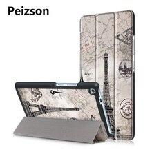 Para lenovo tab 3 7 plus 7703 tb-7703x 7703f cubierta case, flip cuero de la pu cubierta de la tableta para lenovo tab3 tab 3 plus 7 case + pen/stylus