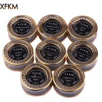 XFKM NI80 SS316L Nichrome High Density Alien Clapton Wires Resistance Wir For Electronic Cigarette RDA RTA