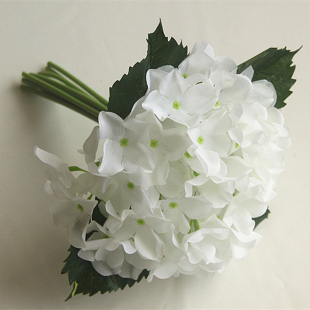 In Stock Artificial Wedding Bouquets for Bridesmaid White Ivory Red Pink Purple Wedding Flowers Bridal Bouquets Handmade