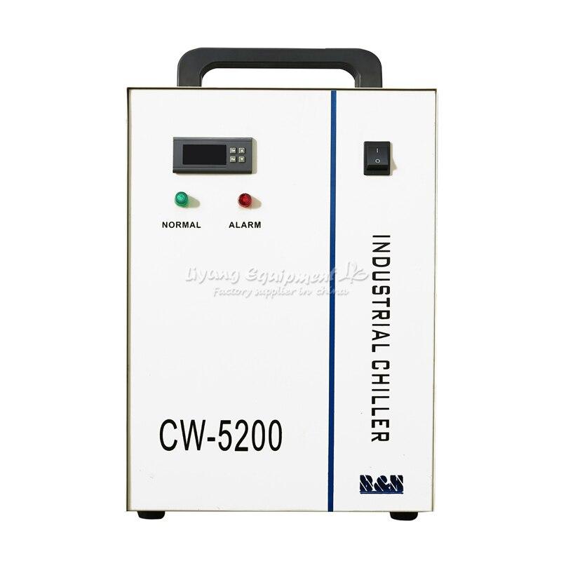 CW-5200AH 조각 기계 전용 냉각기 냉각 레이저 튜브 및 스핀들 130w 150w