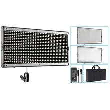 Neewer dwukolorowa 960 DOPROWADZIŁY Ściemniania Profesjonalna Lampa Wideo dla Studio/YouTube? Trz Zestaw Oświetleniowy US Wtyczka 110-130 V