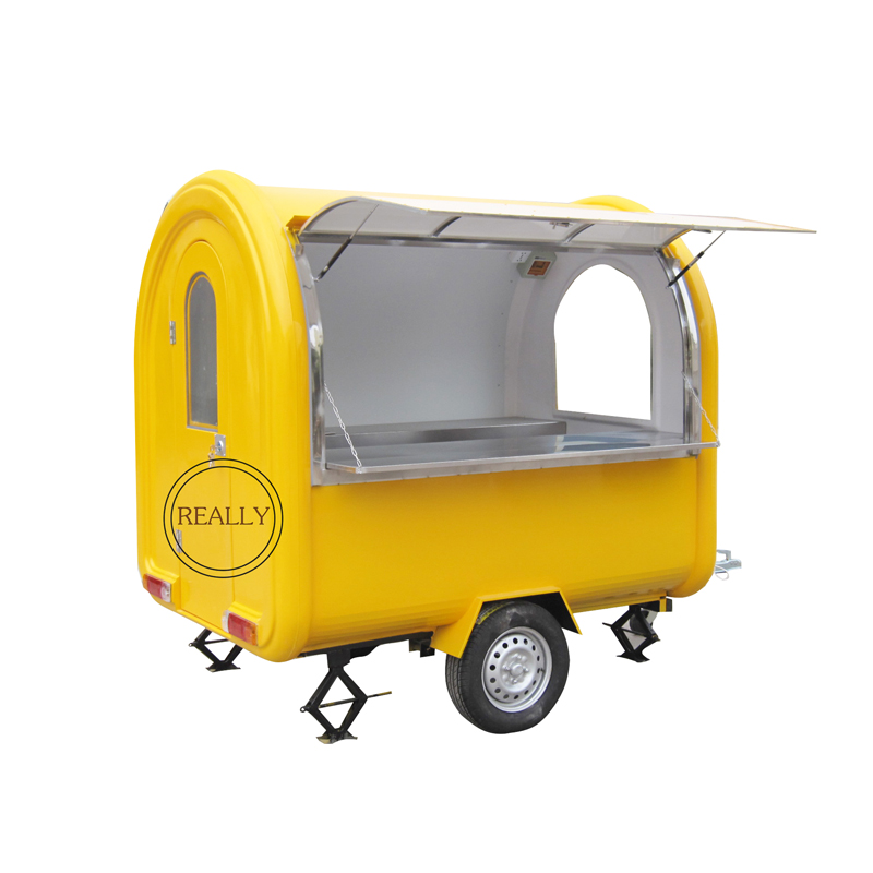 Mobile Food Cart Catering Food Trailer Food Truck Food Processors Home Appliances - title=