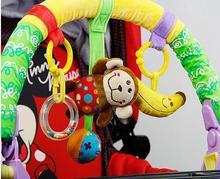 Nouveau coloré bébé poussette Clip lit suspendu lit de berceau autour de bébé jouets mignon en peluche jouets sûrs jouets cognitifs livraison gratuite!