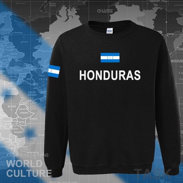 Honduras hoodies men sweatshirt sweat new hip hop streetwear tracksuit nation clothing sporting country HND Honduran Catracho 1