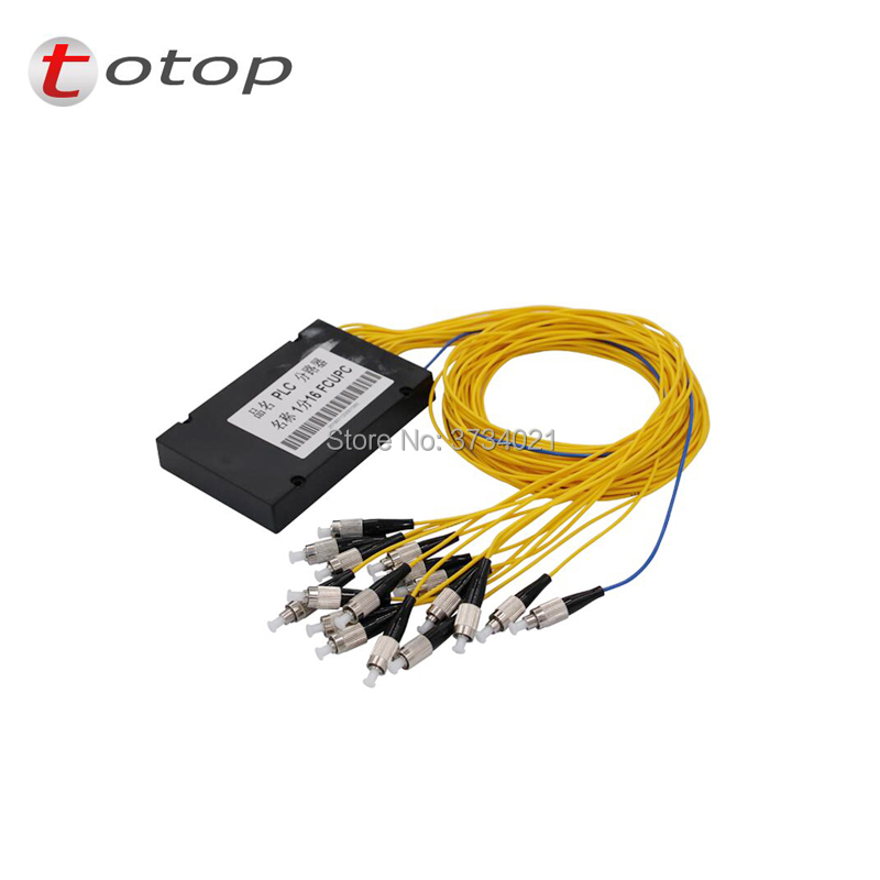 PLC Splitter FC UPC 1X 16 Single Mode FC Splitter Fiber Optic 1x16 FC Upc Plc Splitter/ 1x16 Singlemode Plc Splitter