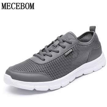 Plus Size 35-48 Hot Men's Casual Shoes Summer Mesh Men Shoes lace-up Lightweight men sneakers zapatos hombre 1607m - DISCOUNT ITEM  50% OFF All Category