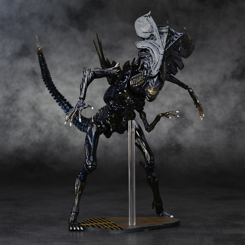 US $33 99 |2 style Fiama high quality NECA ALIEN toy Aliens 018 egg  Predator xenomorph Queen mother PVC action figure Collectible Model -in  Action &