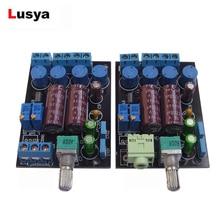 TA2024 Audio wzmacniacz cyfrowy płyta Mini t amp wzmacniacz Tripath karta Audio 2x15W DC 12V F9 002