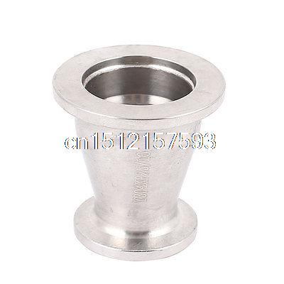 Stainless Steel 304 Vacuum Reducer Conical Flange Adapter KF25 to KF16 цена и фото