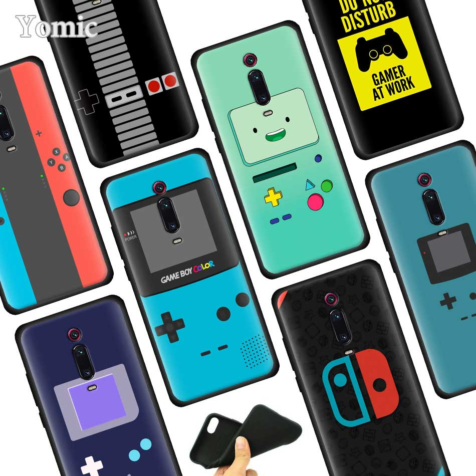 Game Boy Game Box print Back Silicone Case for Xiaomi Redmi Note 7 7S 6 Pro K20 7 7A 6 6A Go S2 Y3 5 4X Soft Phone Case image