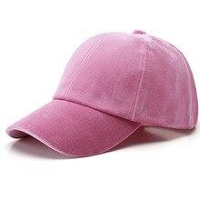 Baseball Velvet Cap