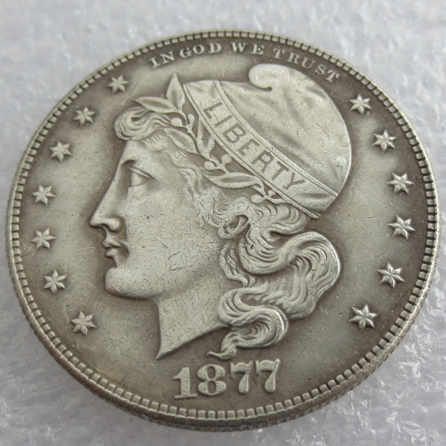 b8105f66969 90% silver or silver plated US 1877 Phrygian Cap Half Dollar Patterns copy  coin High Quality