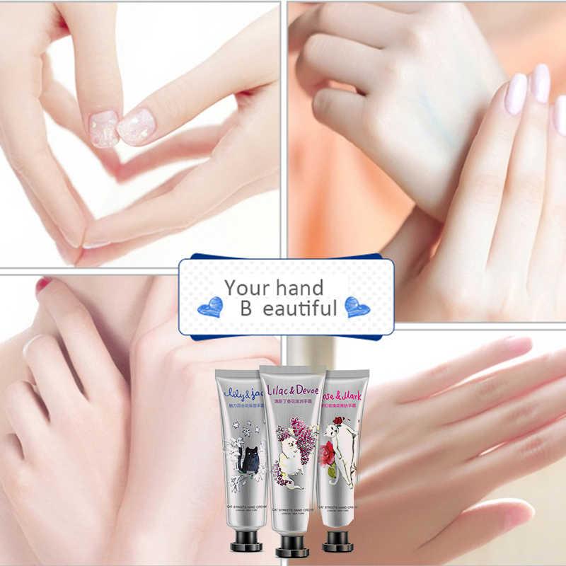 3Pcs Lily Rose Lila Handcrème Set Planten Essentie Huid Verpleging Hydraterende Crème Voor Hand & Body Skin Care set