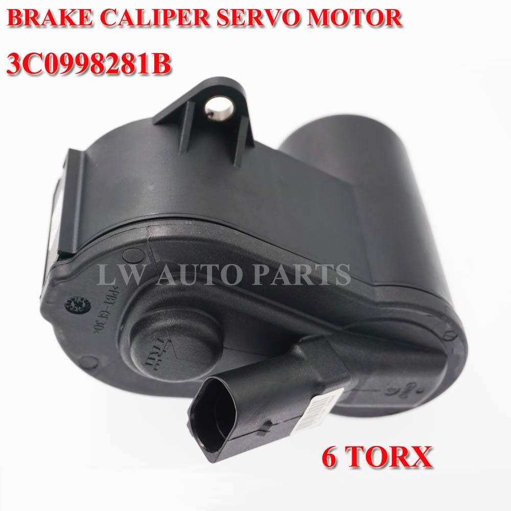 6-TORX Brake Servo Motor for Audi VW Passat B6 B7 CC Tiguan 32332267 3C0998281B