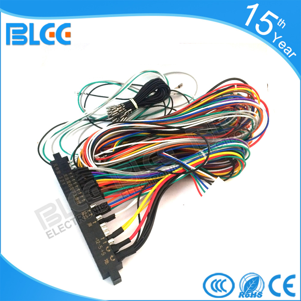 3pcs of Full Machine 28p arcade jamma harness for pandora box 3 520 in 1 arcade aliexpress com buy 3pcs of full machine 28p arcade jamma harness  at bakdesigns.co