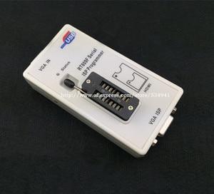 Image 3 - Бесплатная доставка 100% оригинальный новейший RT809F ЖК ISP программатор с 8 адаптерами + тестовый зажим sop8 IC + плата ICSP/кабель ISP