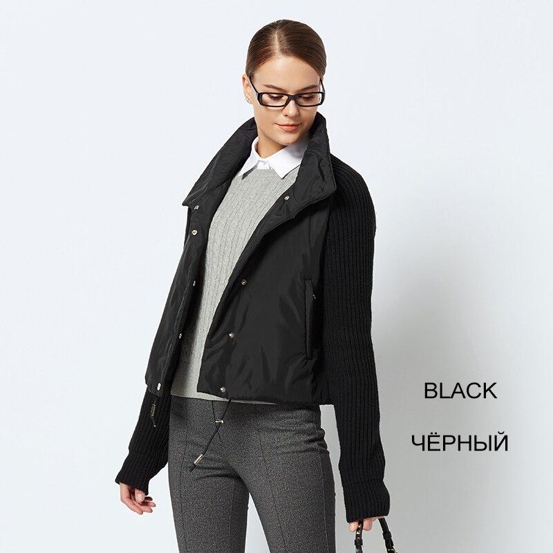 2019 court femmes manteau et mince coton rembourré veste printemps veste femme élégant avec col nouvelle Collection printemps femme