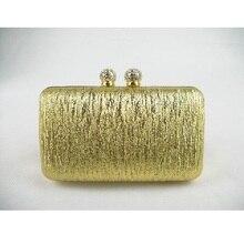8614-GDทองเลดี้แฟชั่นงานแต่งงานเจ้าสาวp Arty Nightคลัทช์กระเป๋าคริสตัลเย็นกระเป๋ากระเป๋าถือกรณีในการจัดส่งฟรี