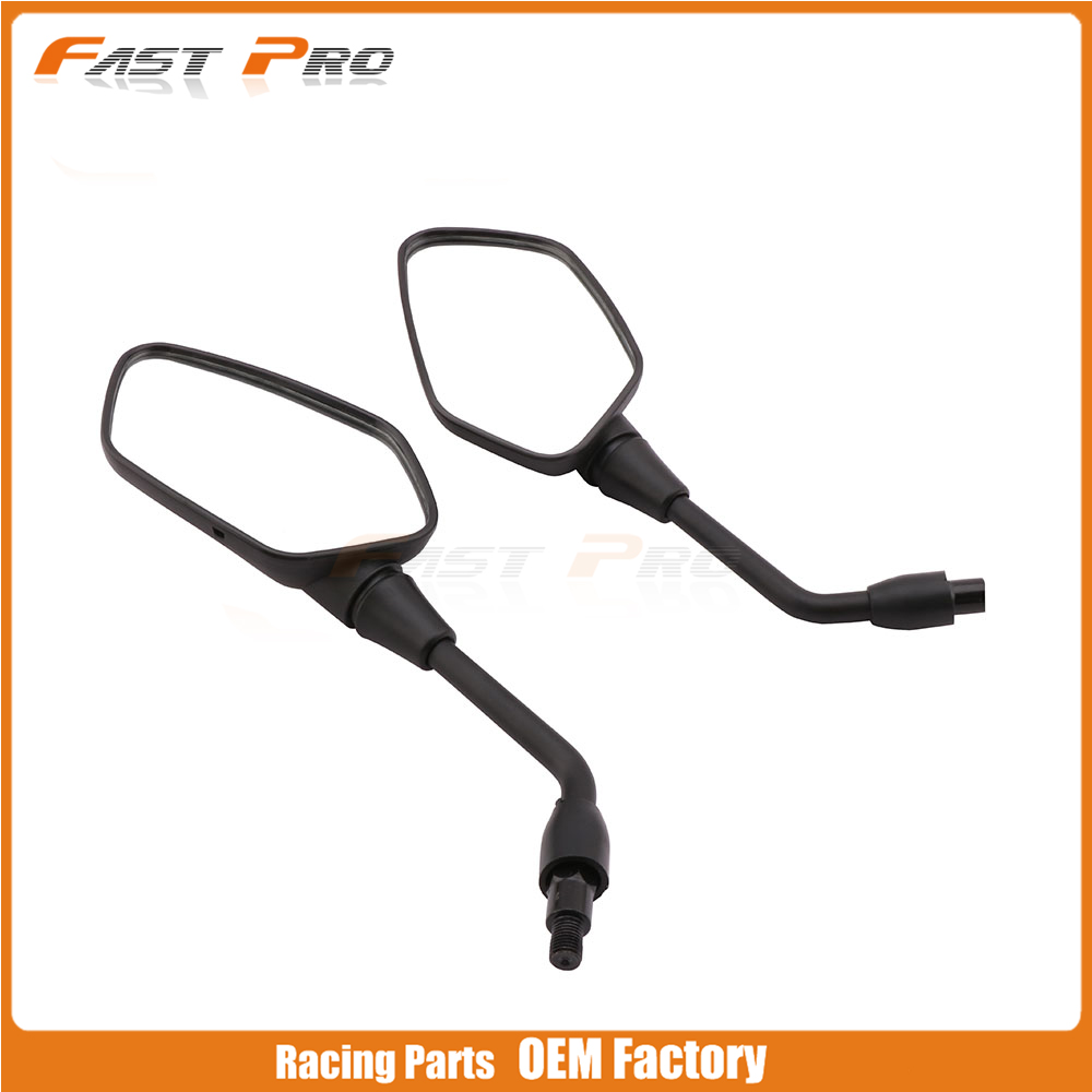Motorcycle Side Rearview Rear view Mirror Carbon Fiber For HONDA NC700 NC 700
