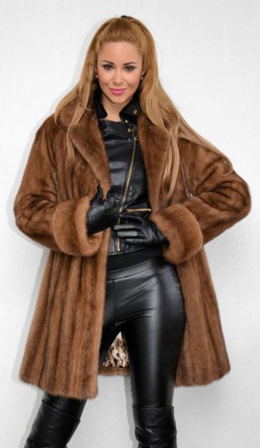 Saga Mink Coat - Sm Coats