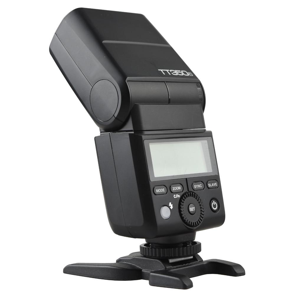 Flash GODOX TT350C d'origine 2.4G HSS GN36 TTL Mini flash Speedlite + XPRO-C pour Canon EOS 800D 650D 600D 750D 77D M5 M3 - 3