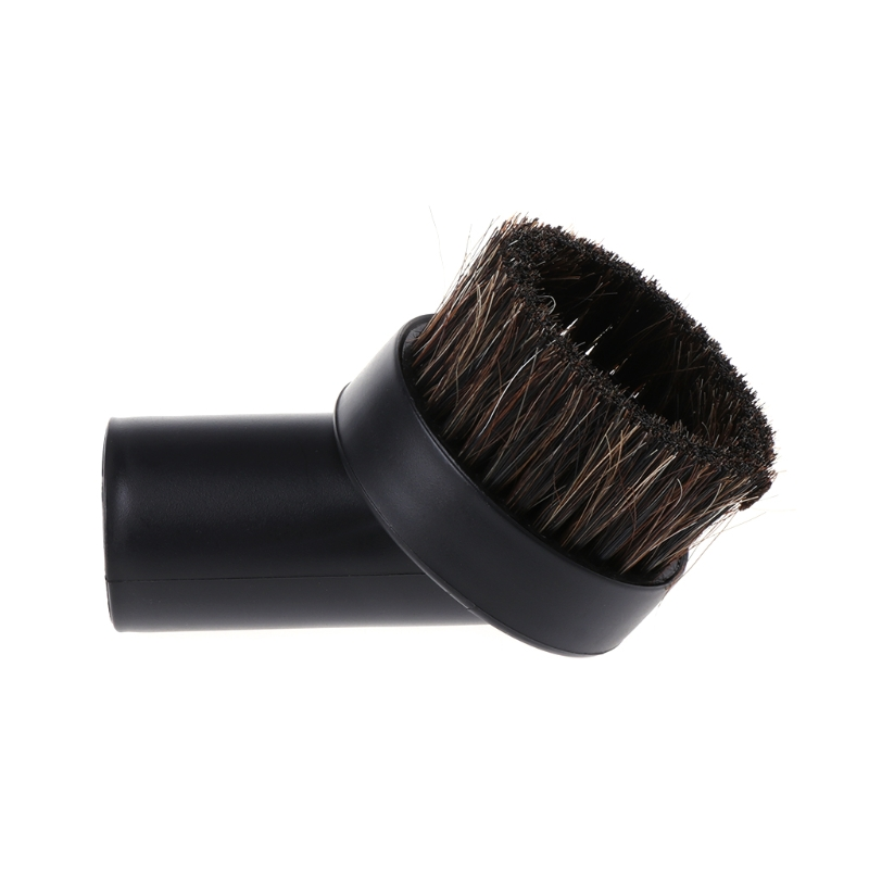 32mm Mixed Horse Hair Round Cleaning Brush Head Vacuum Cleaner Accessories Tool 60 hanks stallion violin horse hair 7 grams each hank 32 inches in length