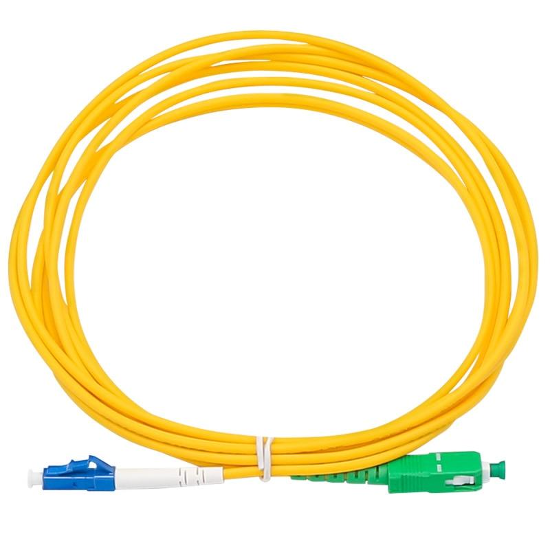 10PCS/lot Fiber Optic Jumper Cable SC/APC-LC/UPC Fiber Optic Patch Cord Free Shipping
