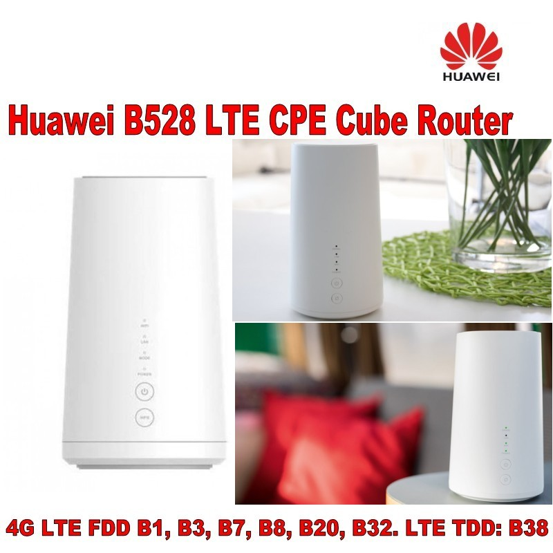 Hot Sale] Lot of 100pcs Huawei B528 4G LTE CPE Wireless Router-in 3G