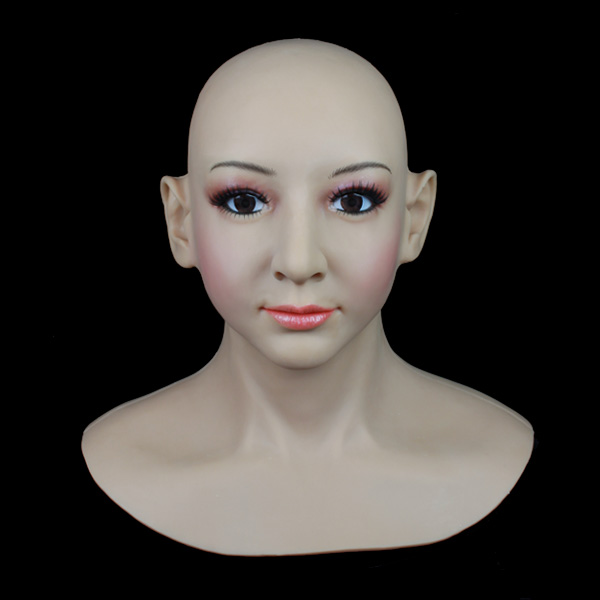 SF-13 Top quality realistic female masks for cross dresser, masquerade masks for men, halloween silicone face mask sf 16 high quality realistic latex masks full face mask female silicone masks disguise latex mask transsexual