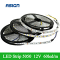 5m/lot  LED Strip Light SMD5050 DC12V RGB Blue White Green Red Warm white Yellow LED Magic Dream Color Rope Light