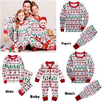 2018 Juego De Pijamas De Navidad De Familia Juego De Pijamas De