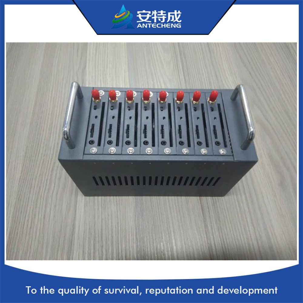 Hot product 8 port modem wireless module MTK bulk sms device and imei change GSM 8 port bulk sms modem pool softmodem audio modem module iphone and android