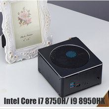 Intel Core Core i7 8750H Mini PC Windows 10 pro Intel UHD Core graphique i9 8950H DDR4 Ram M.2 SSD Linux Micro ordinateur(China)