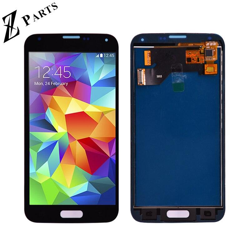 Für Samsung S5 LCD G900F Display LCD Bildschirm Touch Digitizer Assembly Kompatibel für Samsung Galaxy S5 G900 G900F LCD